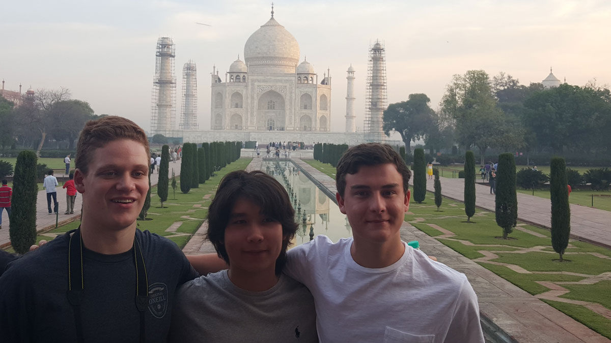 Student reflections on India