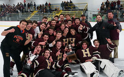 Independence League champions: Fords ice hockey defeats Germantown Academy in the finals
