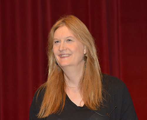 Seeing life as a story: Jennifer Finney Boylan '76 presents Hallowell Lecture