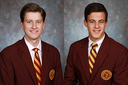 National Merit Scholarship winners: Caleb Clothier and Dean Manko