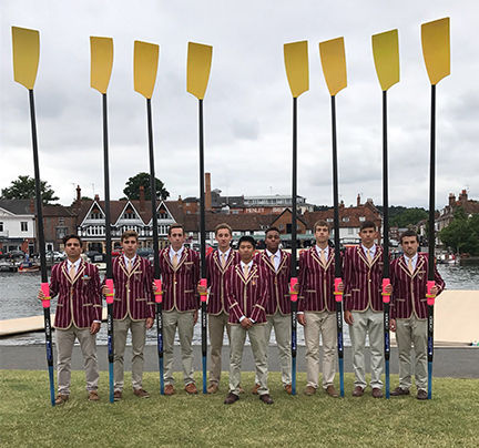 Haverford crew competes in Henley Royal Regatta
