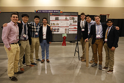 Soft Robotics Club presents at Materials Research Society meeting in Arizona