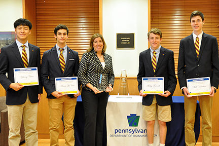 Haverford School students win statewide PennDOT Innovations Challenge