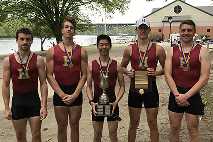 Fords Varsity Four wins gold at City Championships