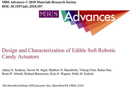 Students and grads published in Materials Research Society's scientific journal