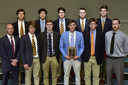 Haverford School water polo players earn team scholar-athlete award
