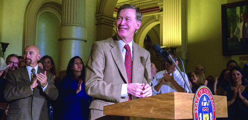 John Hickenlooper Colorado Governor
