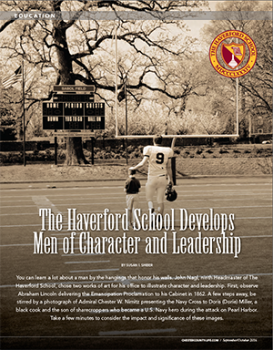 Character and Leadership John Nagl Bill Brady Haverford School