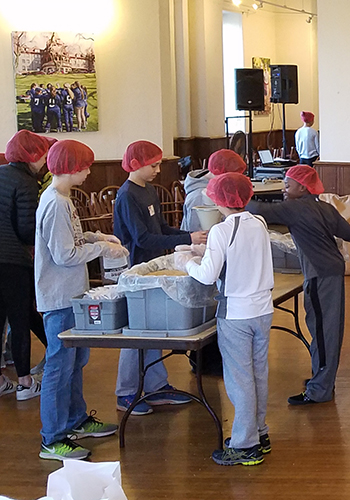The Haverford School Martin Luther King Day of Service