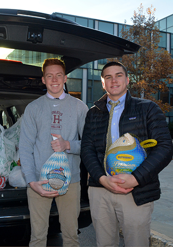 The Haverford School turkey drive