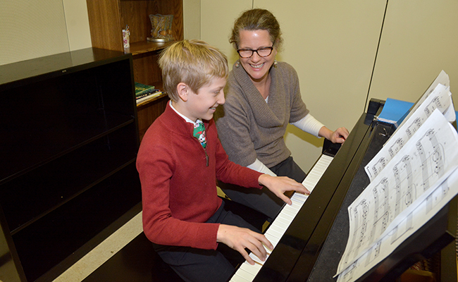 The Haverford School piano lessons
