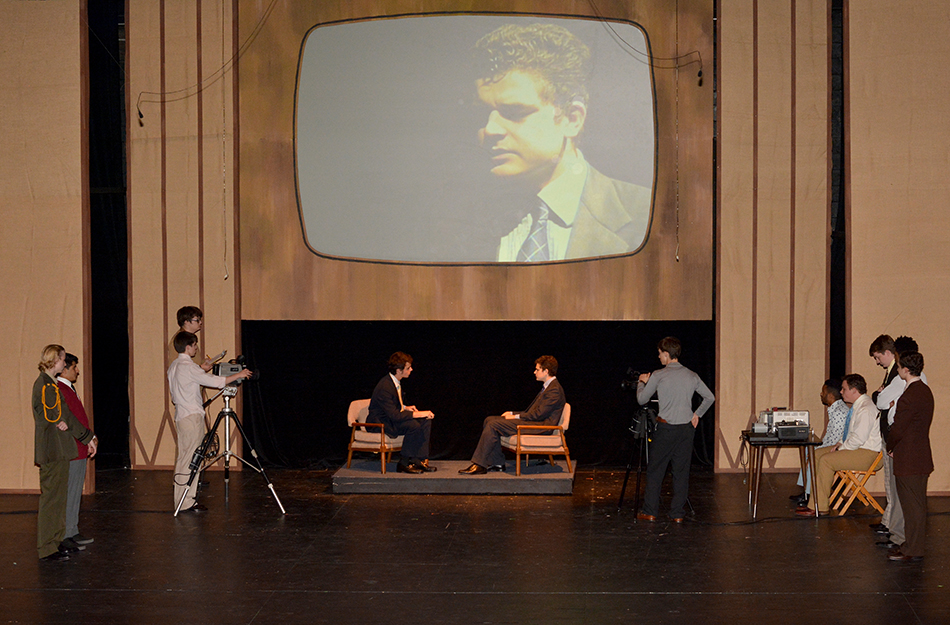 The Haverford School Upper School Play Frost Nixon