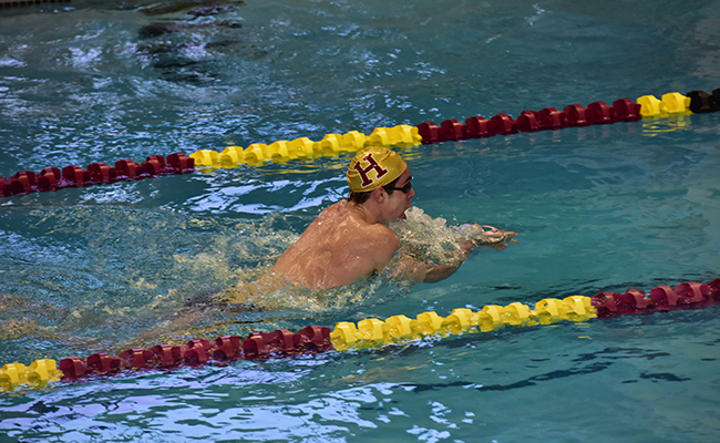 Swimming and diving at The Haverford School