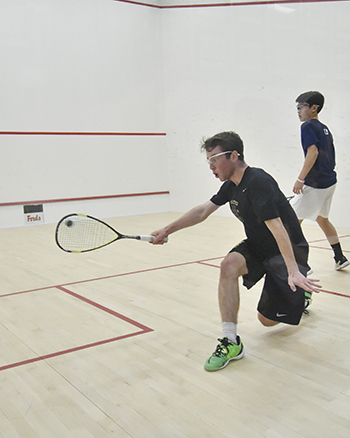 award winning nationally ranked squash team