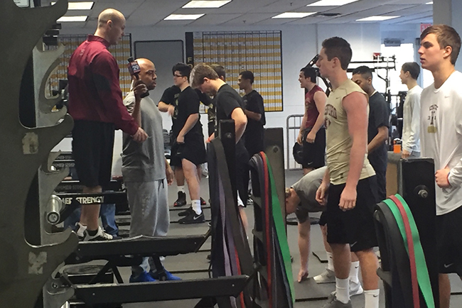 The Haverford School strength and conditioning athletics