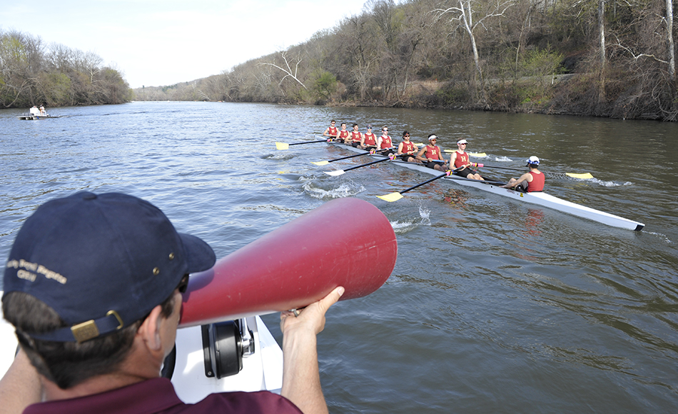 The Haverford School varsity crew