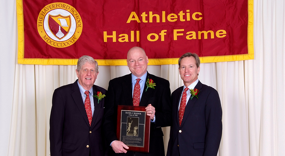The Haverford School Athletic Hall of Fame Mayock '82