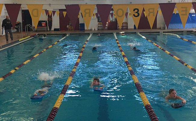 The Haverford School swimming