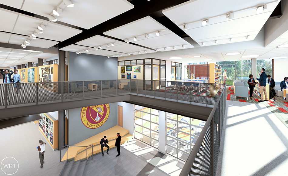 Haverford School middle school interior
