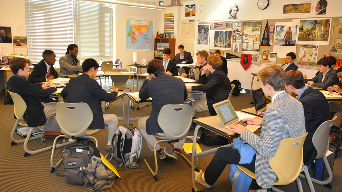 Igniting the spark with Socratic seminars