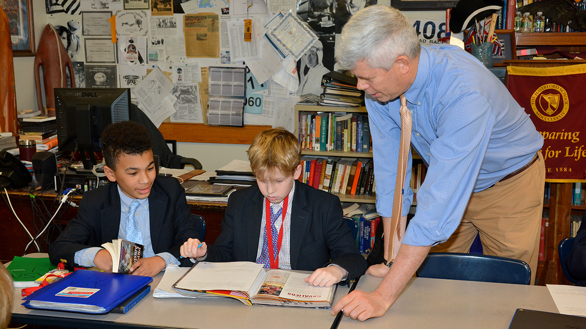 History teacher recognized by Library of Congress