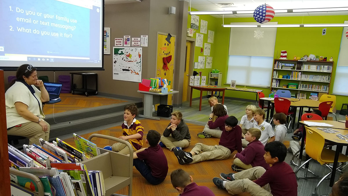 Learning to code in Lower School